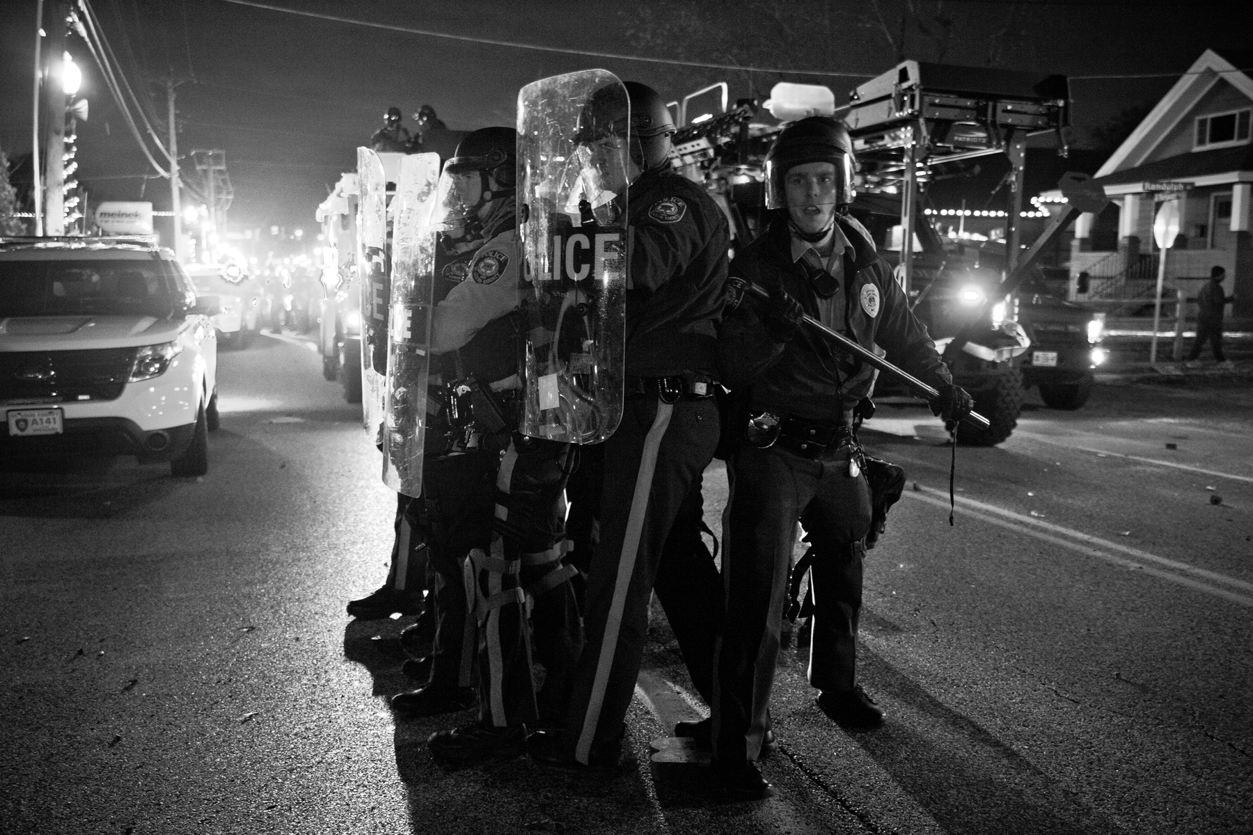 St. Louis County police officers in WHOSE STREETS?, a Magnolia Pictures release. Photo courtesy of Magnolia Pictures