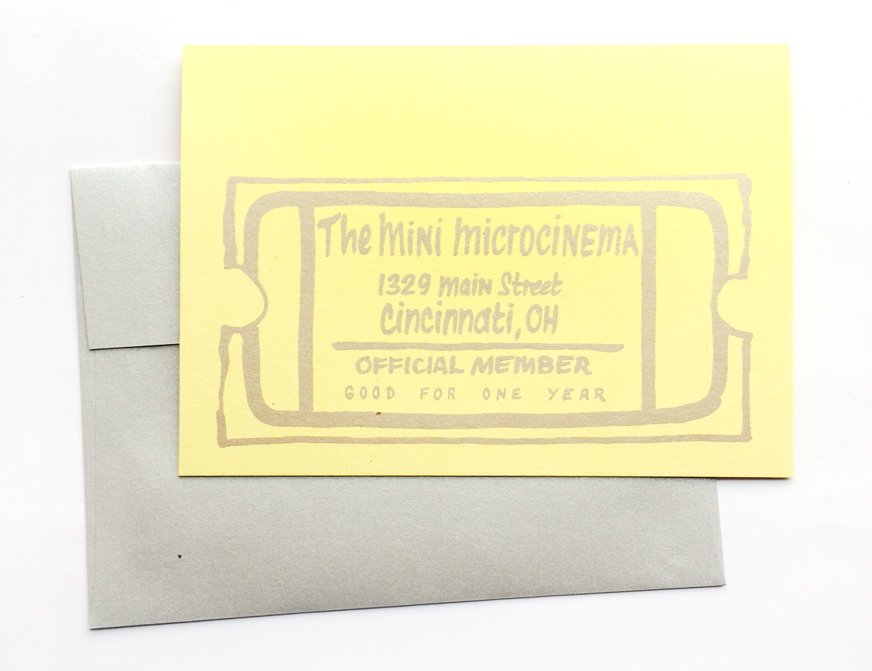 Give the Gift of Cinema -- Greeting Card Design by Lisa Ramsey