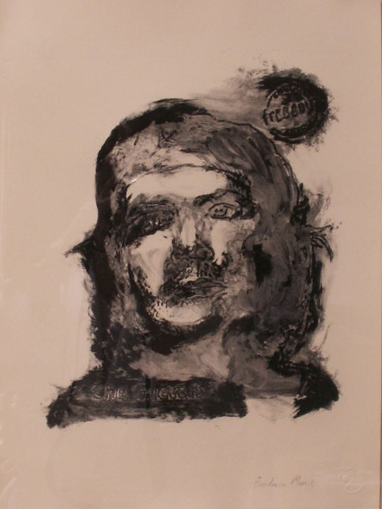 "Che (black )		15"" x 11""	monotype			2009"