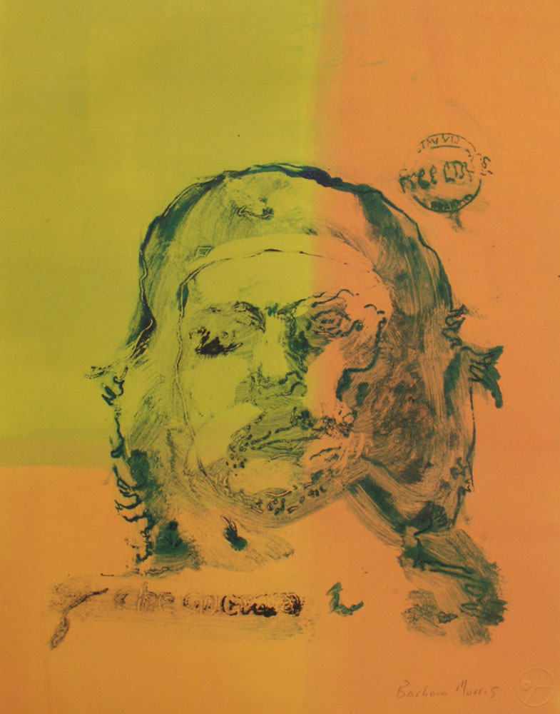 "Che (green and gold)	15"" x 11""	monotype			2009"