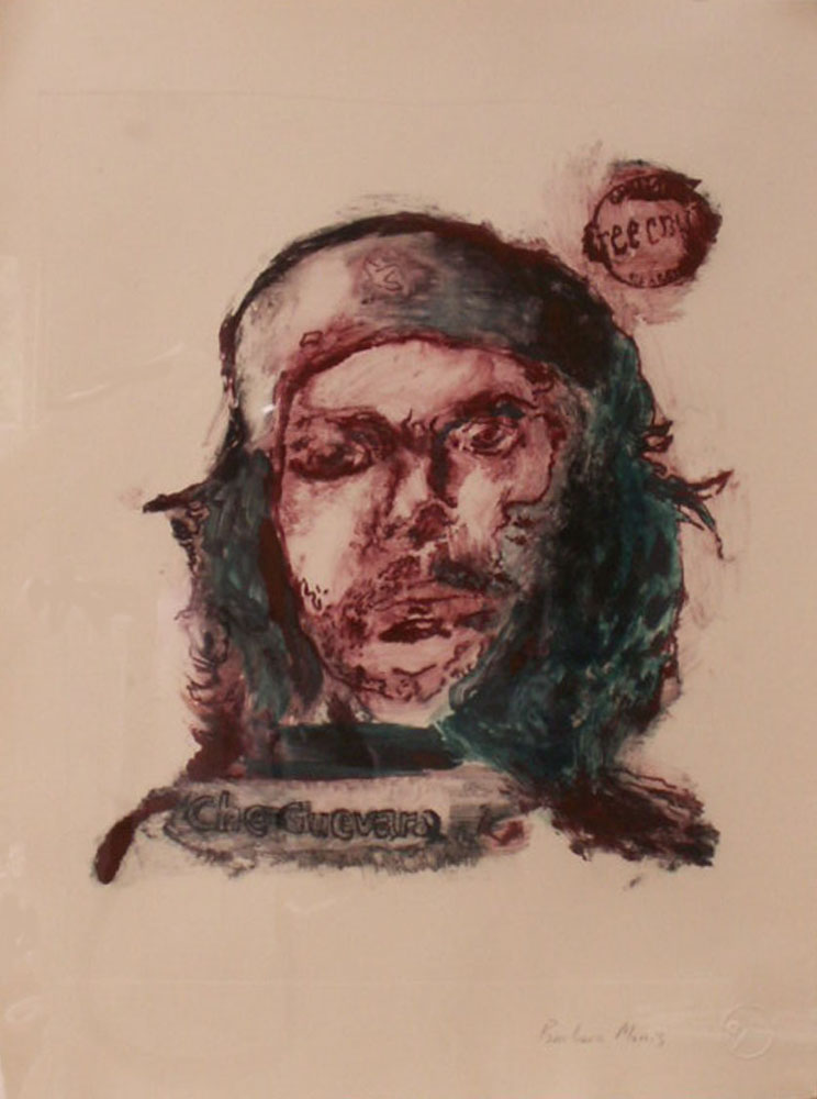 "Che (green and red)	15"" x 11""	monotype			2009"
