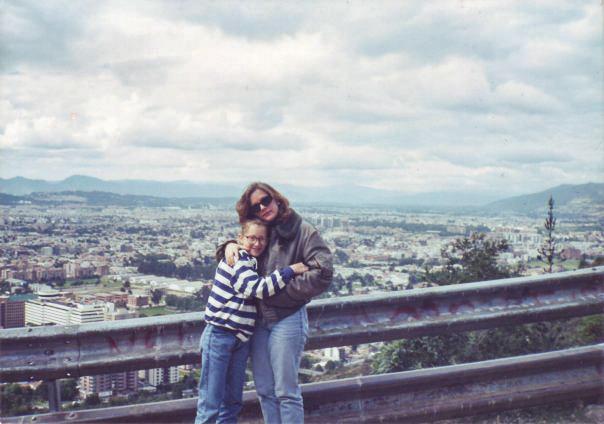 Mom & V in Bogie Town
