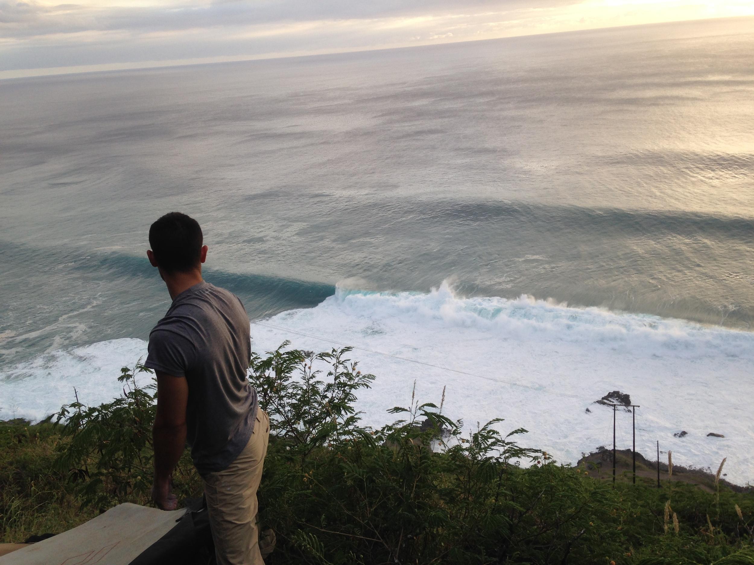 bouldering hawaii wolfenstien big waves