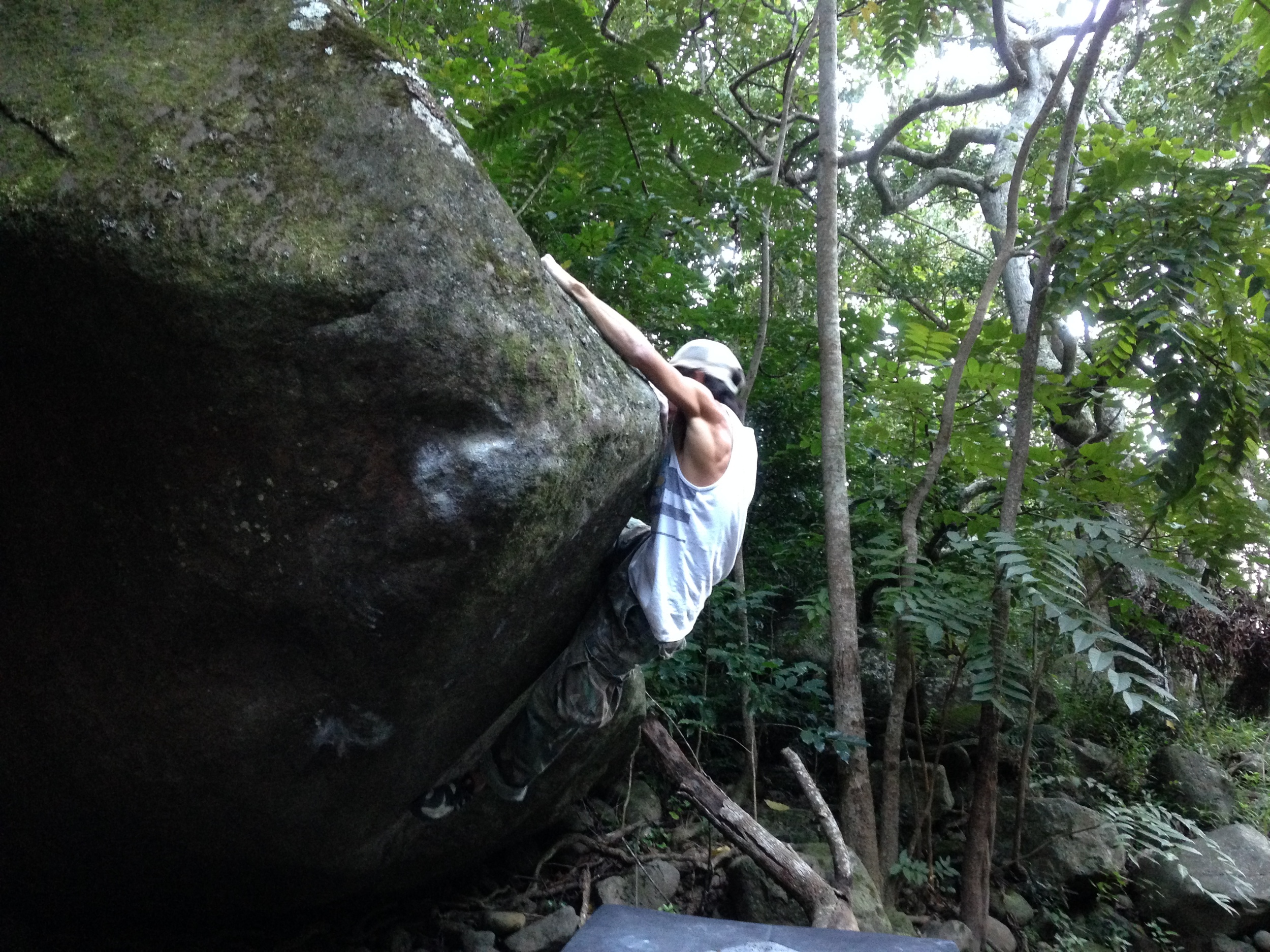 Chase reaching enlightenment. PC: Matt Lutey