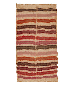 FALIERO SARTI Red Stripe felted camel-blend scarf.jpeg