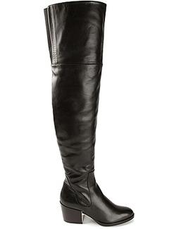 Ballin thigh high boots