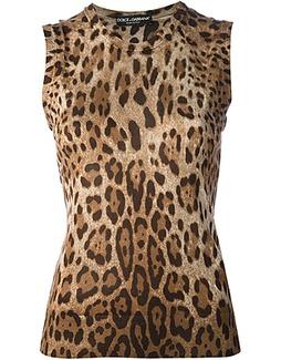 D&G leopard print top