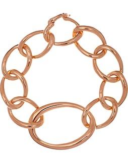 Dinny Hall Rose Gold Vermeil Toro Link Bracelet