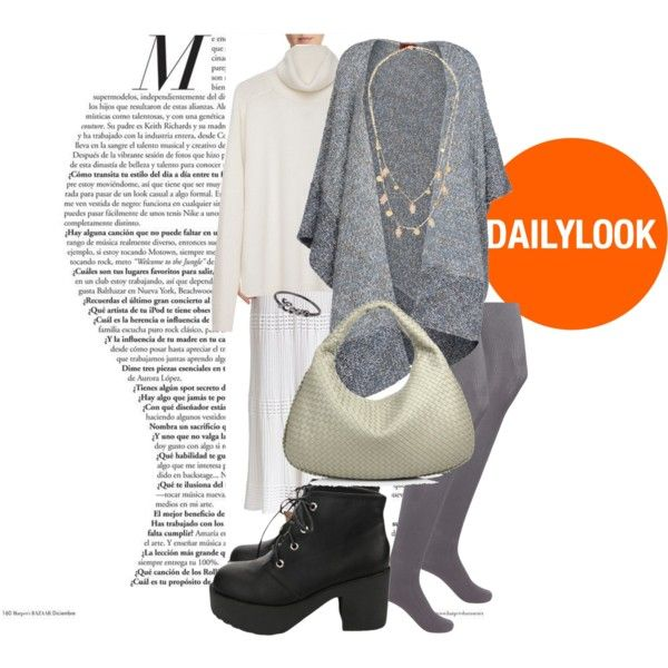 Dress:  M Missoni , Turtleneck: Maison Martin Margiela, Cape: Missoni, Tights: Forever 21, Boots: Blackfive, Bag: Bottega Veneta, Necklace: Lana, Ring: Icepinkim