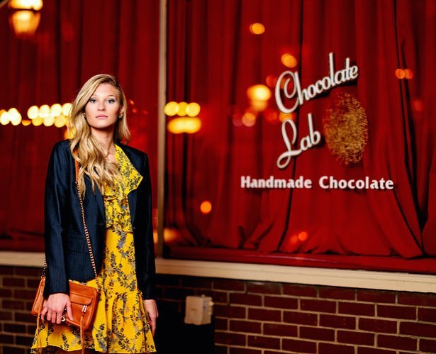 Don't forget to stop by Chocolate Lab of Bethlehem and get delicious #chocolate treats! @thechocolatelabbethlehem with #model @chloesmith413 #photography @roundsjr #makeup @aubreejerden #fashionstylist @stylistafashionpage get styled by me on #glamhive @glamhive here https://www.glamhive.com/danutabyra/portfolio use promo: FREECONSULT #weekend #trending #ootd #afashionpage #style #fashion #lookbook #clothes #blog #may
