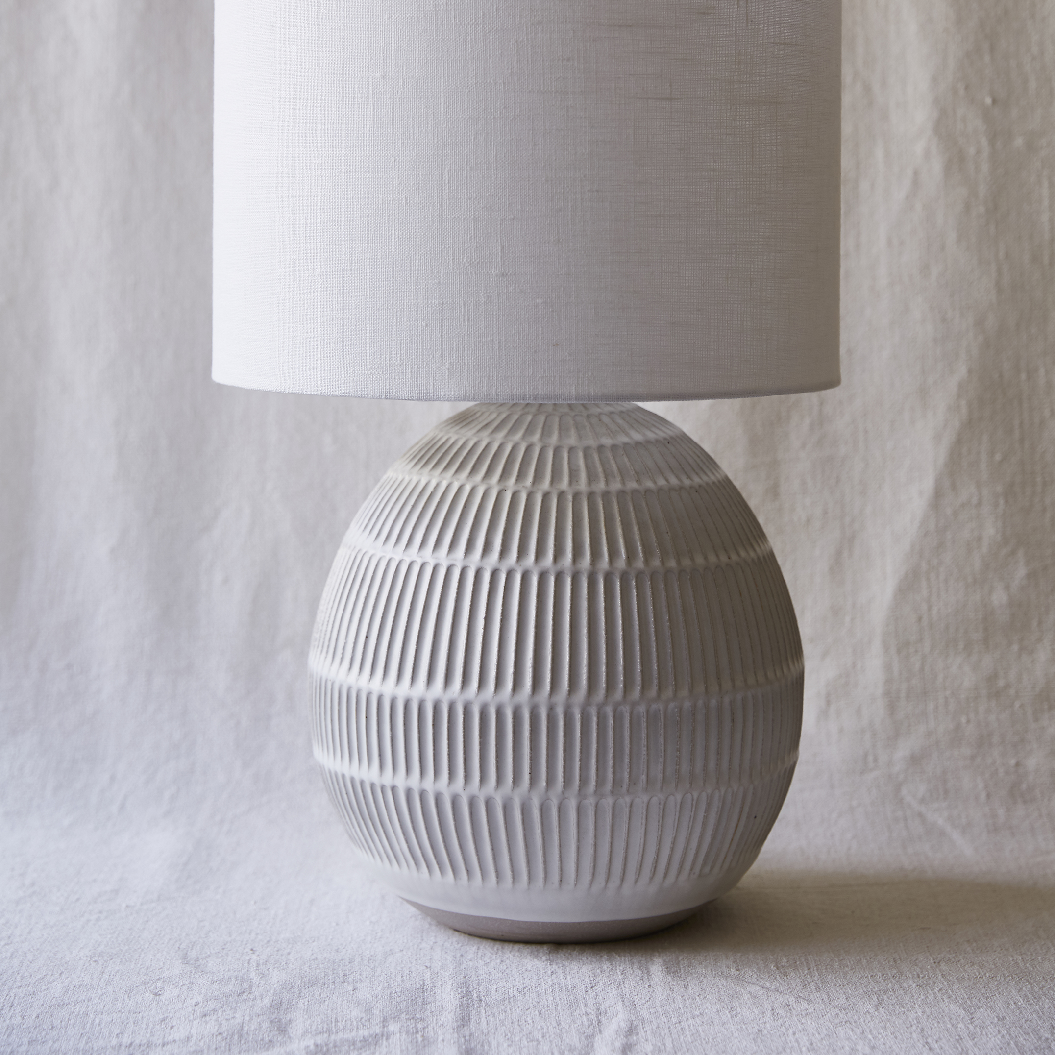 Mt Washington Pottery carved lamp.jpg