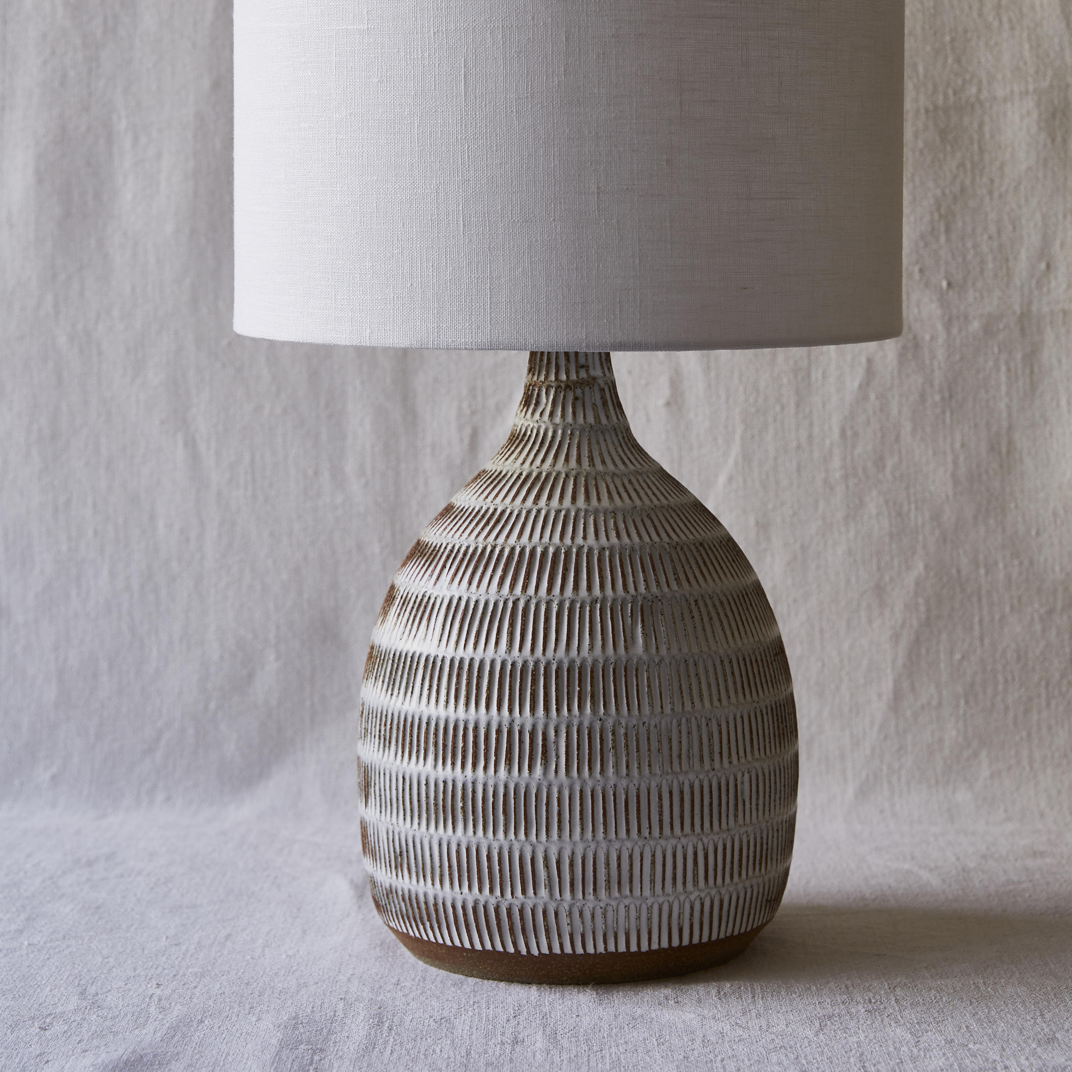 Mt Washington Pottery bottle lamp.jpg