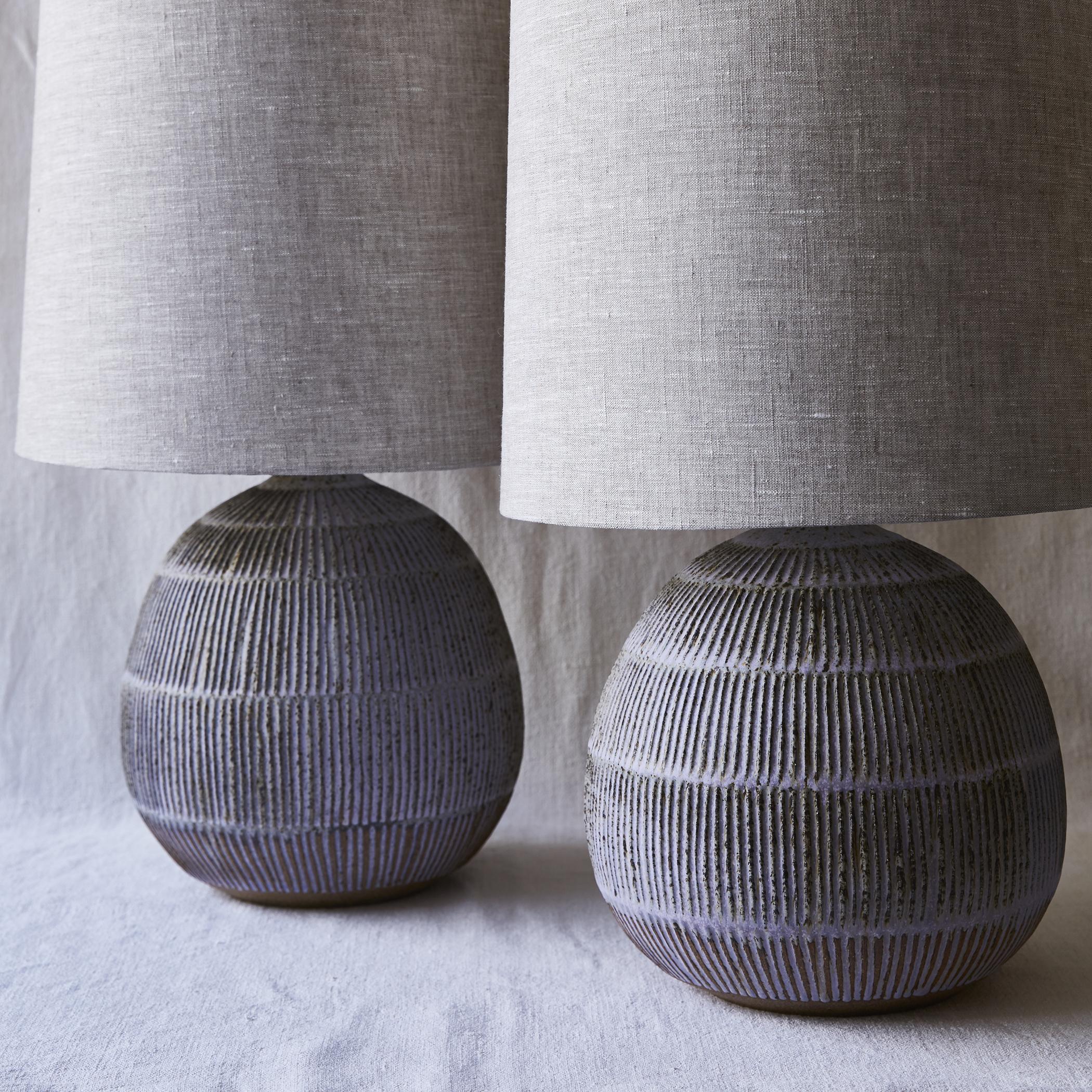 Mt Washington Pottery lamps.jpg