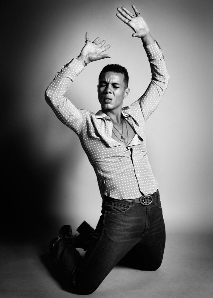 Ismael Cruz Còrdova by David Needleman for Interview Magazine