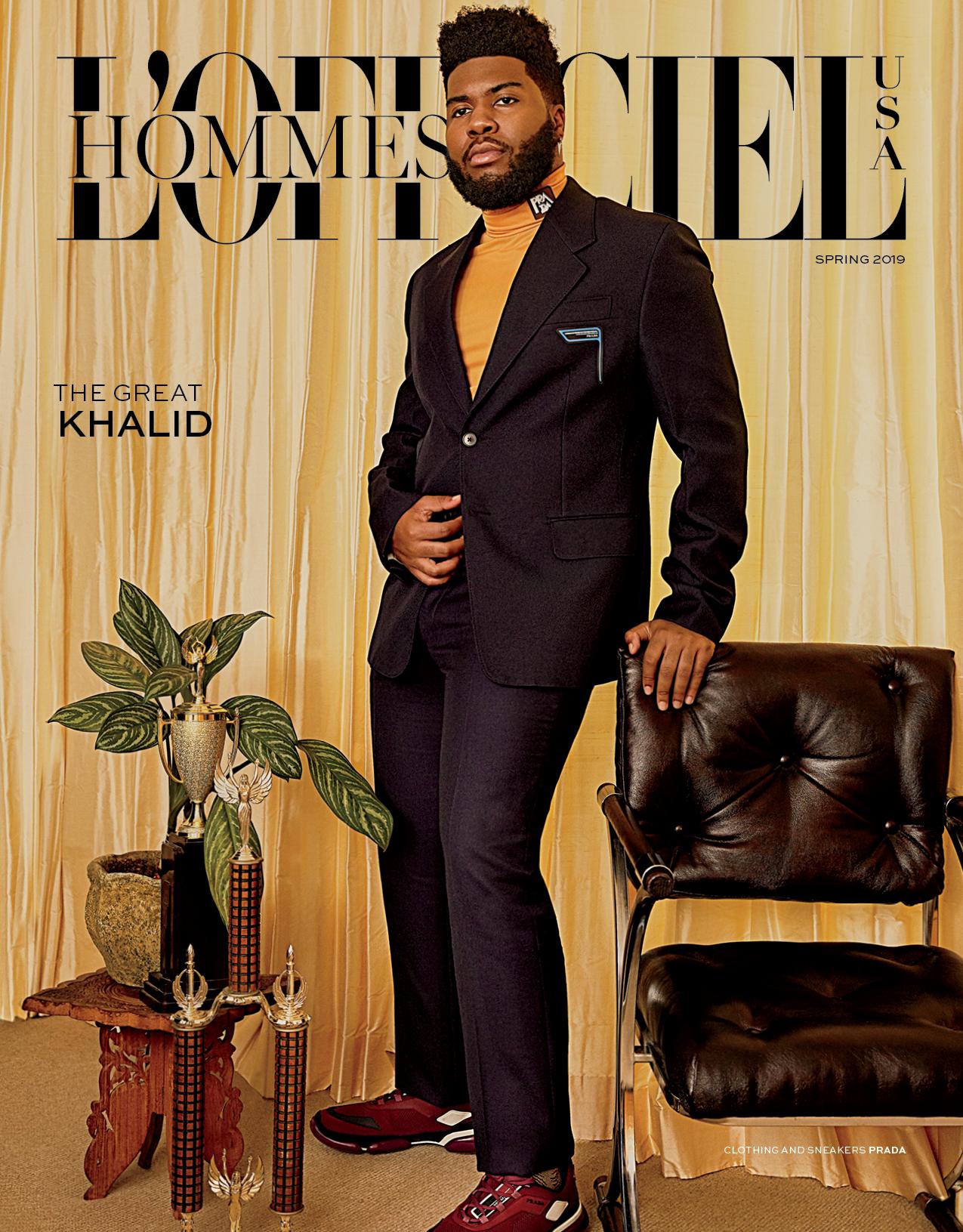 Khalid by Danielle Levitt for L'Officiel USA