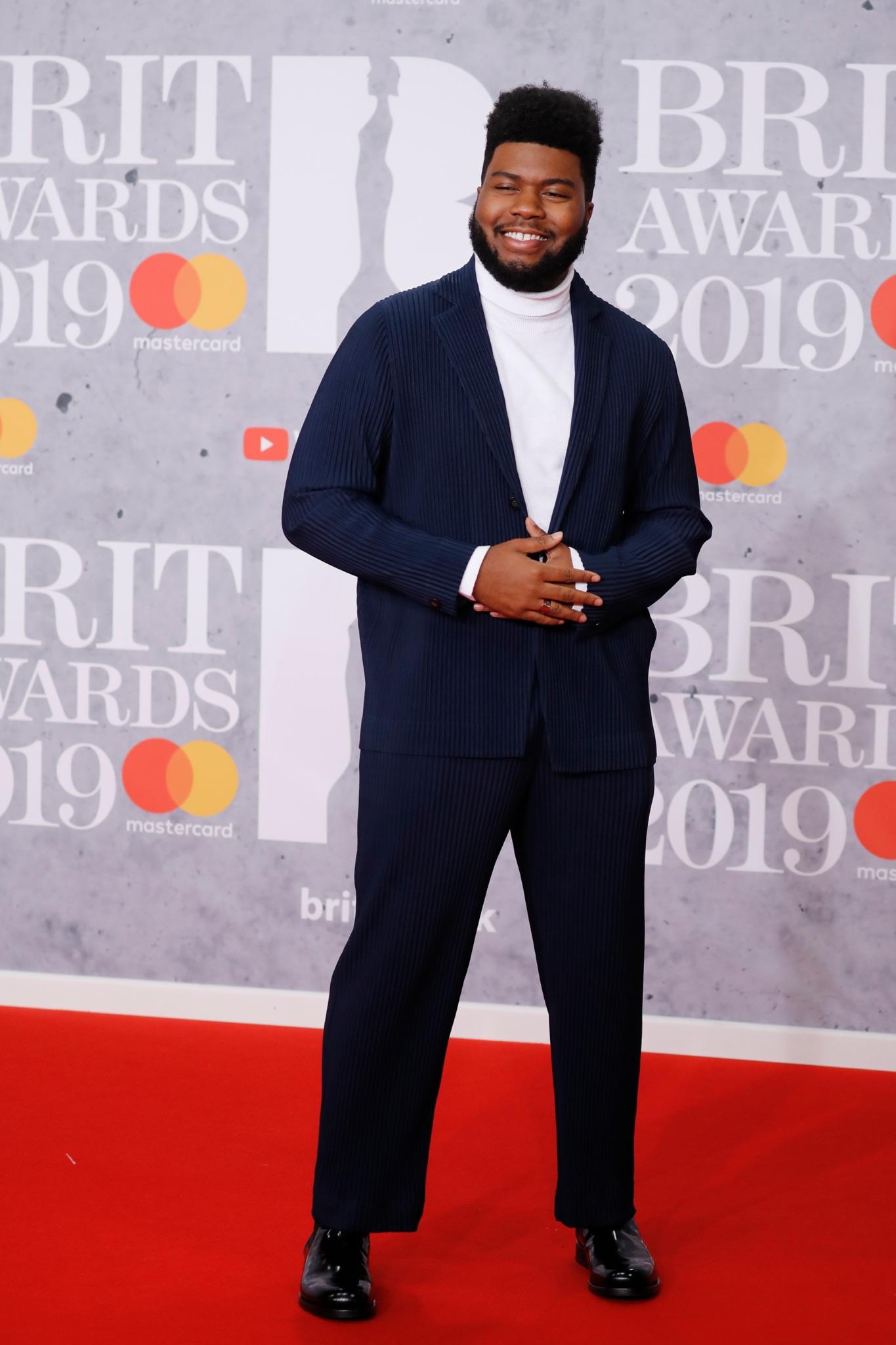 Khalid at the Brit Awards 2019