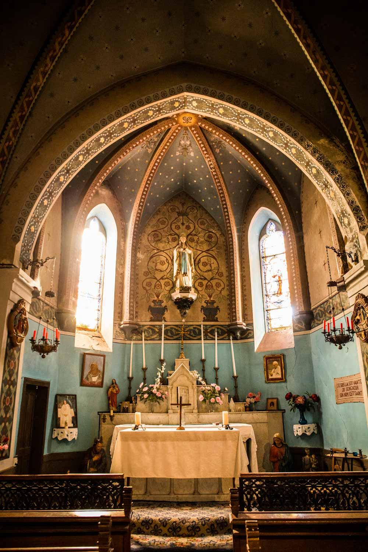 chapel at labastide, france