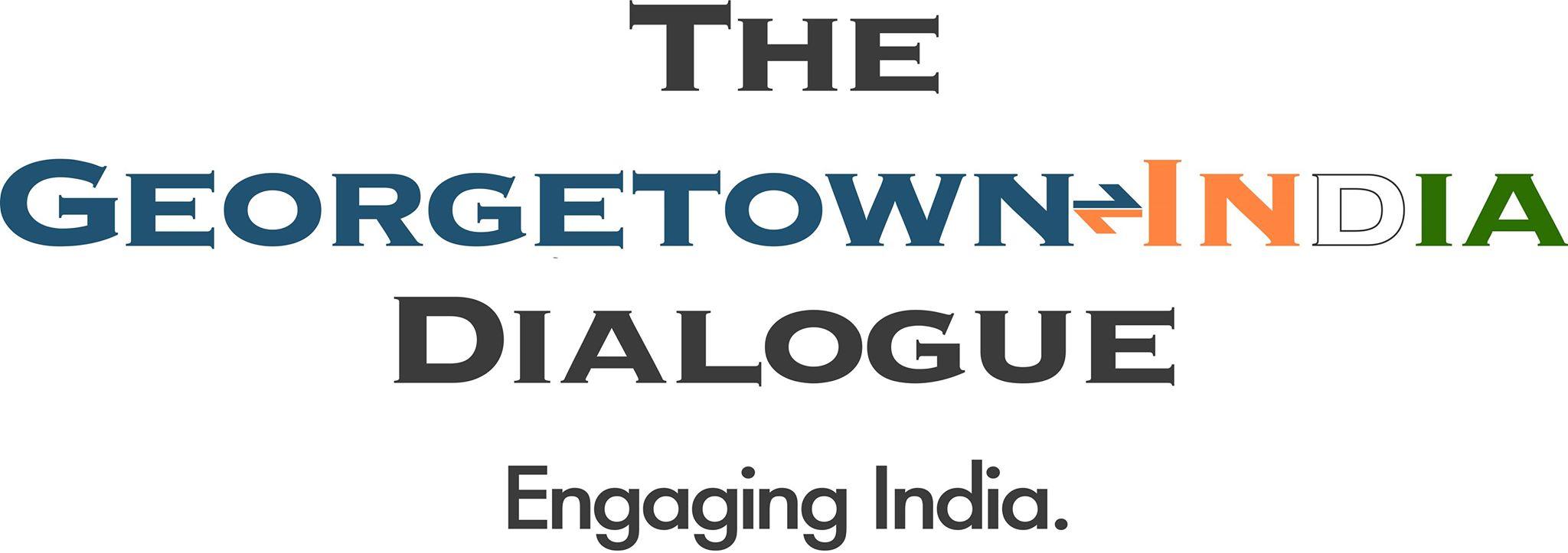 Georgetown India Dialogue JPEG logo