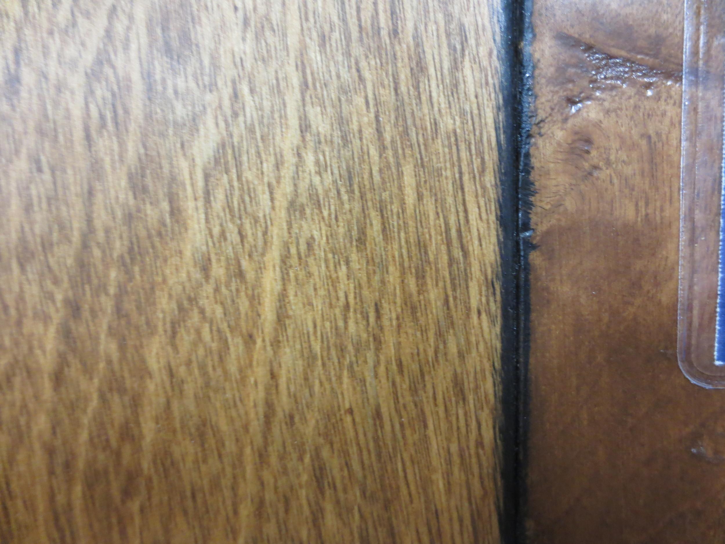 Hardwood Floor With Bleed Back