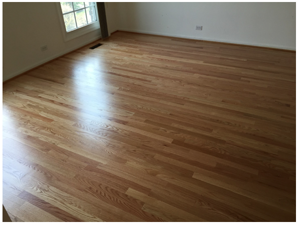 How To Refinish Your Hardwood Floors Finishing A Floor With Oil Based Or Water Finish Refinishing Services In Chicago Flooring Companies