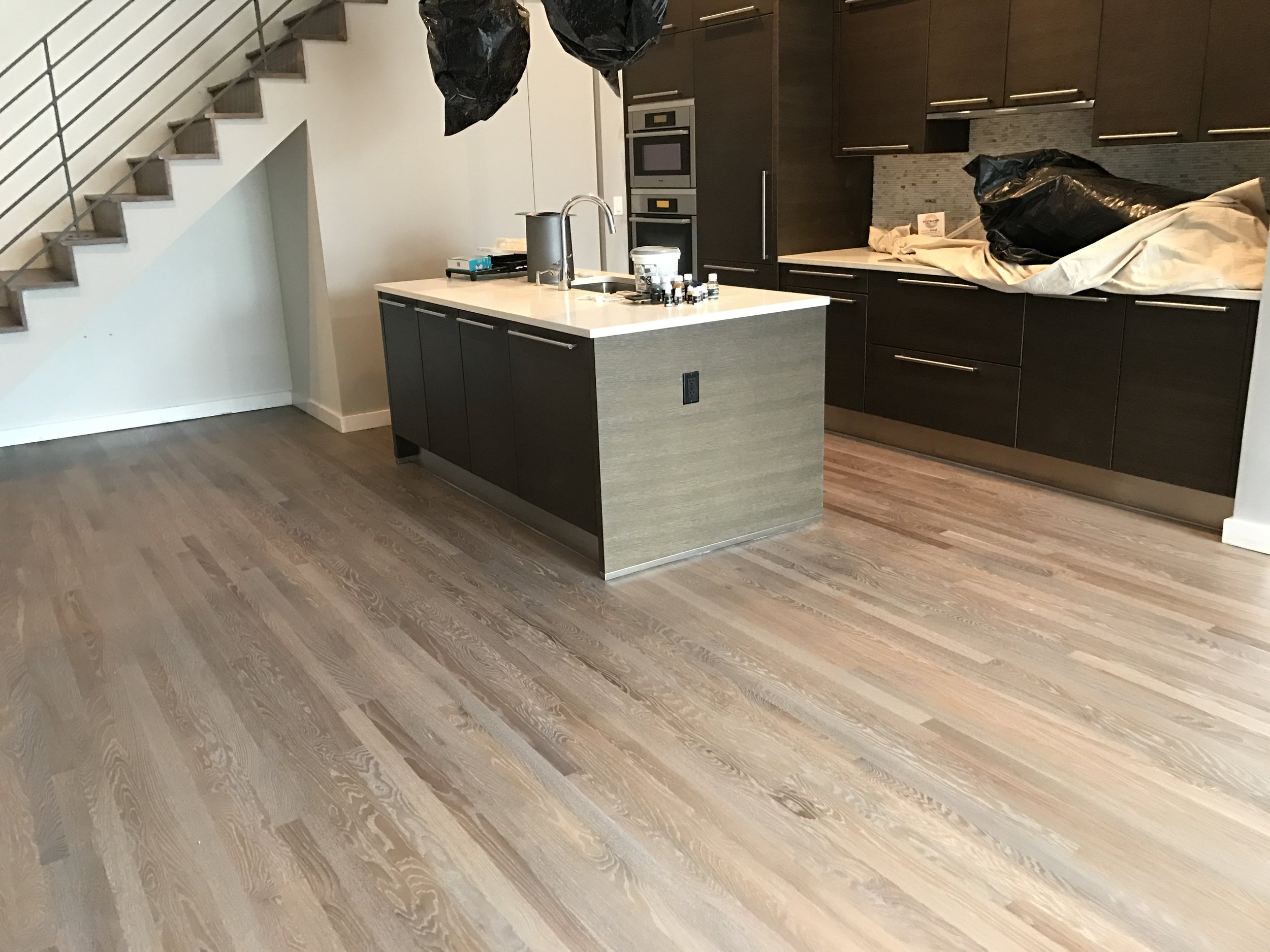This gorgeous floor looks great in any contemporary space.