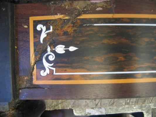 Bottom plinth inlay