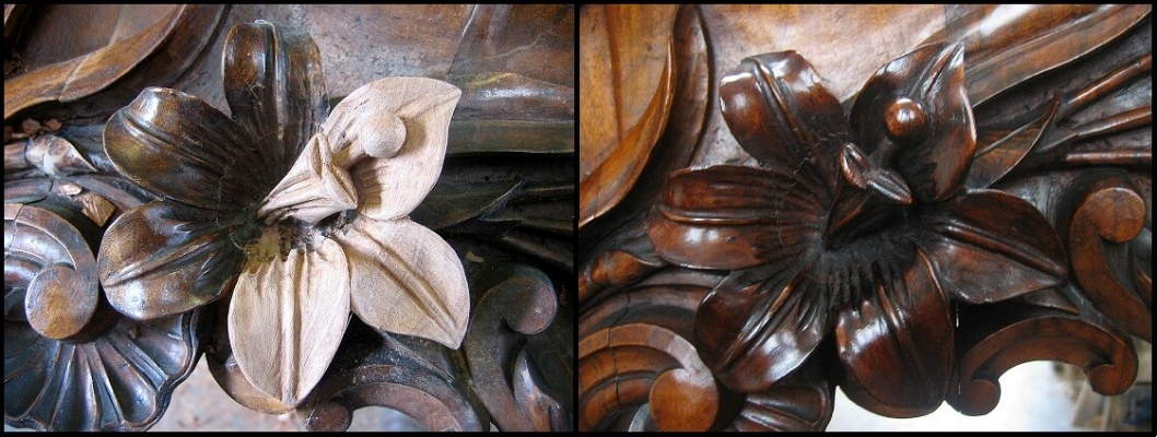 Walnut carvings