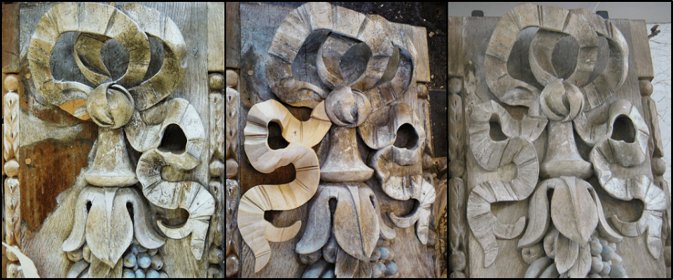 Wall carvings