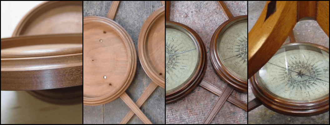 Compass dishes