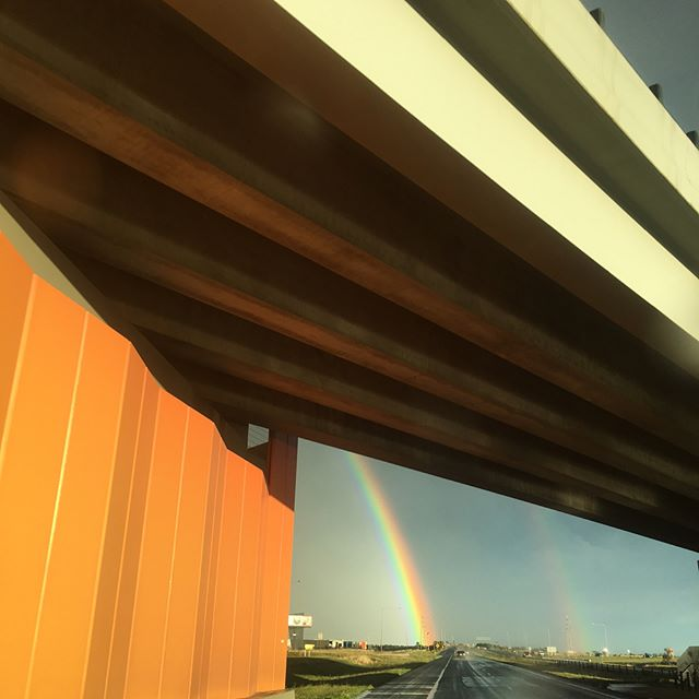 Driving to the end of the #rainbow #autumn #melbourne