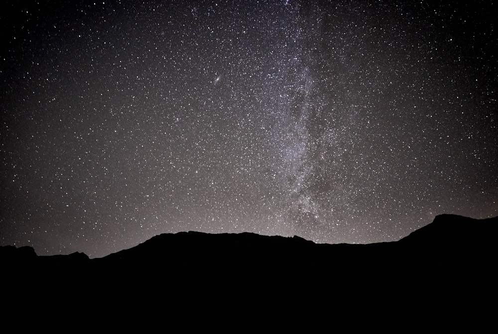 here is a clear shot of the Milkyway.