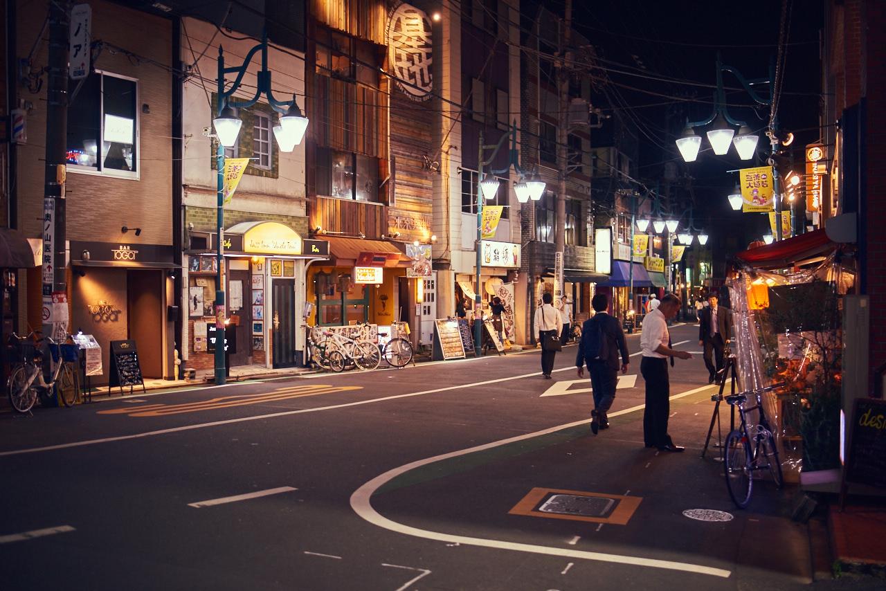 Streets of Sangen-jaya.