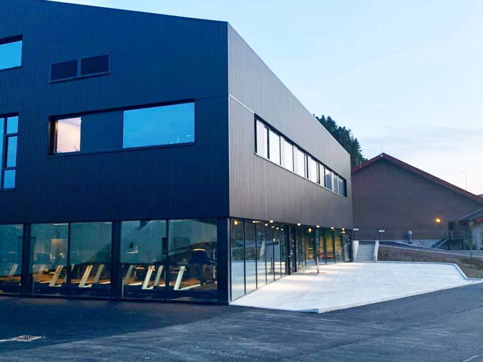 Kraftverket treningssenter.  Foto: Ark Vest