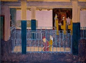 Entrance to Subway [Subway Scene],1938