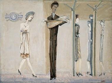 Underground Fantasy [Subway], c. 1940,