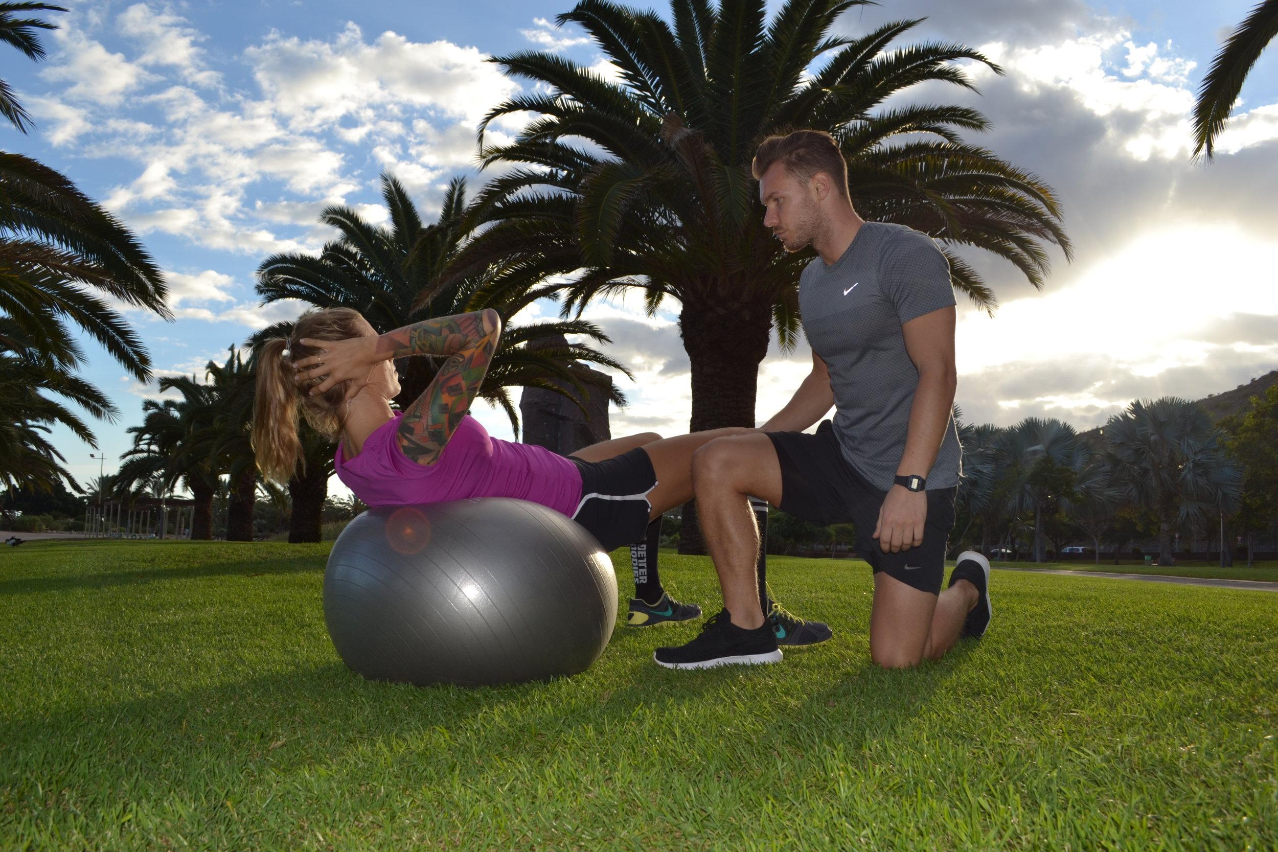 Personal trainer parque Sur Maspalomas