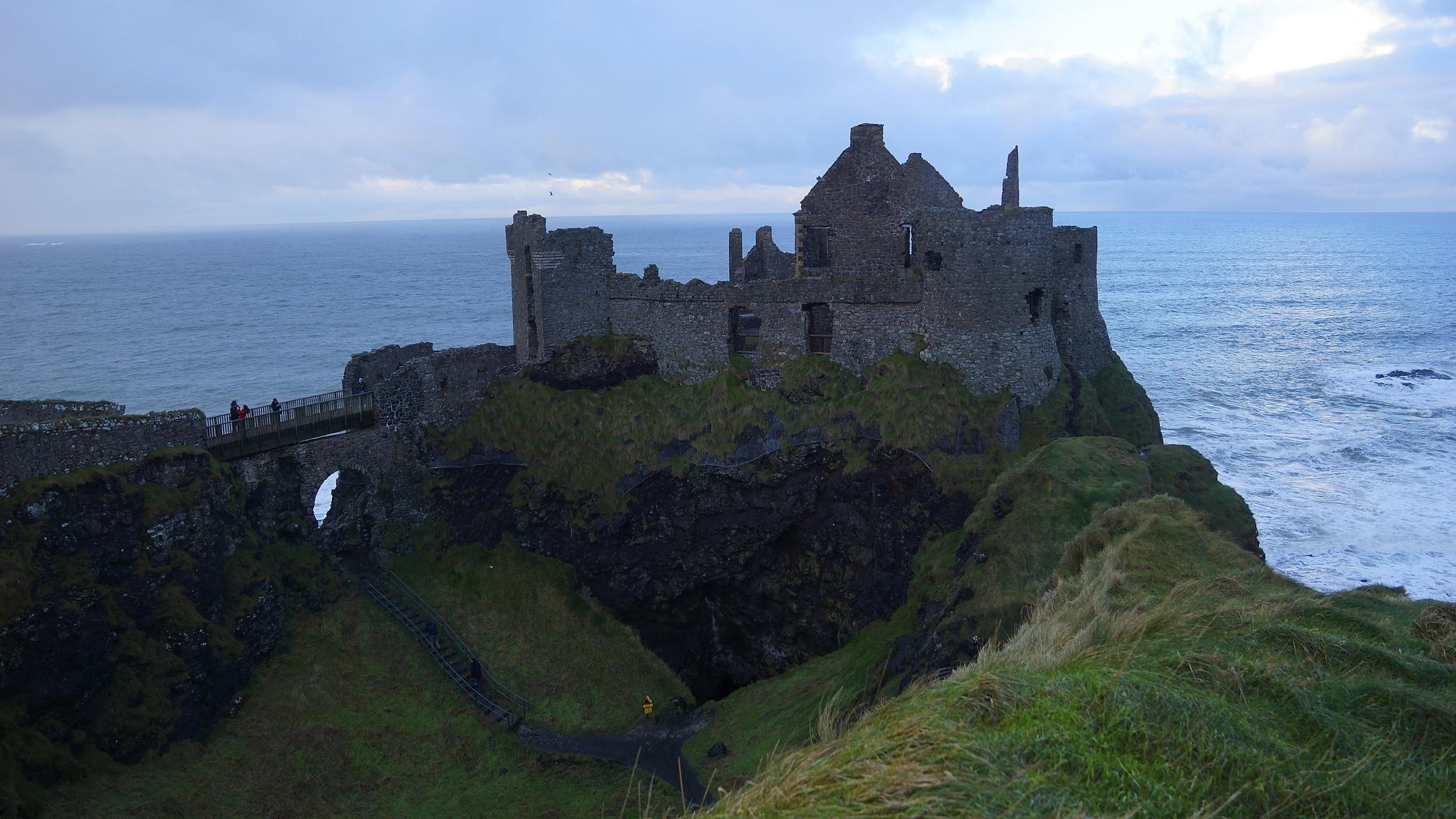 Dunluce Castle on the Causeway Coastal Route