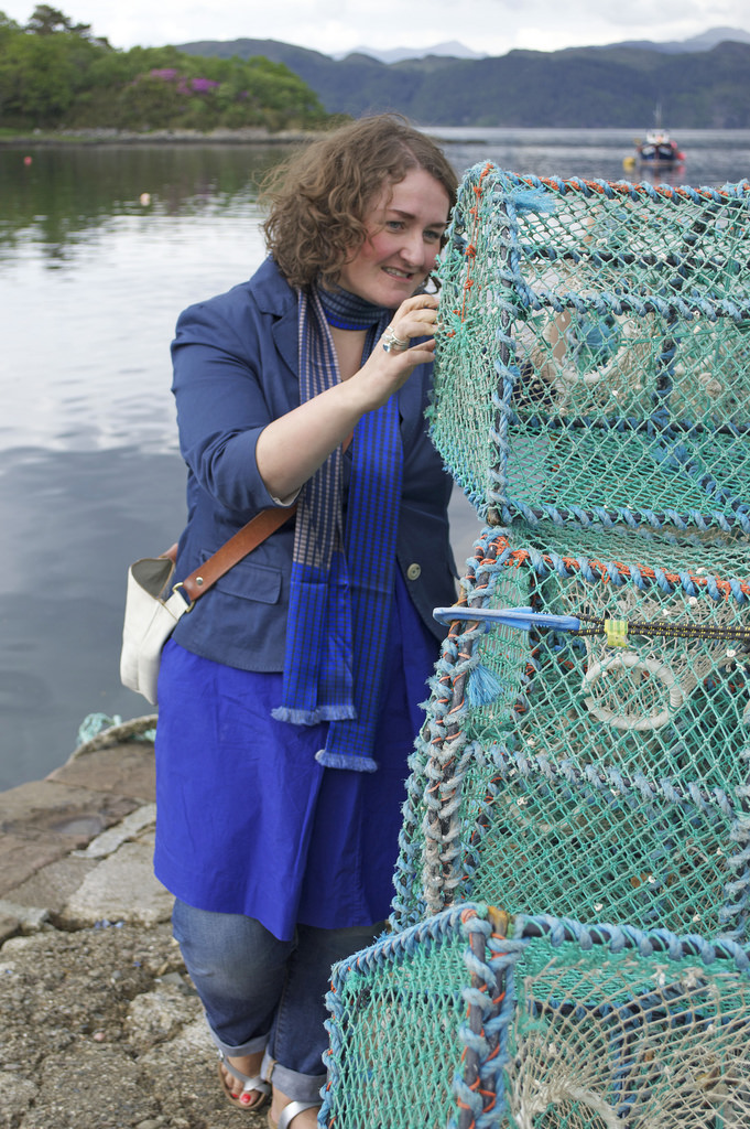 Gilly Langton (in Plockton)  picture by Craft Scotland on Flickr