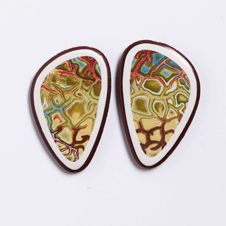 Melanie Muir Autumn Asymmetric Earrings.jpg