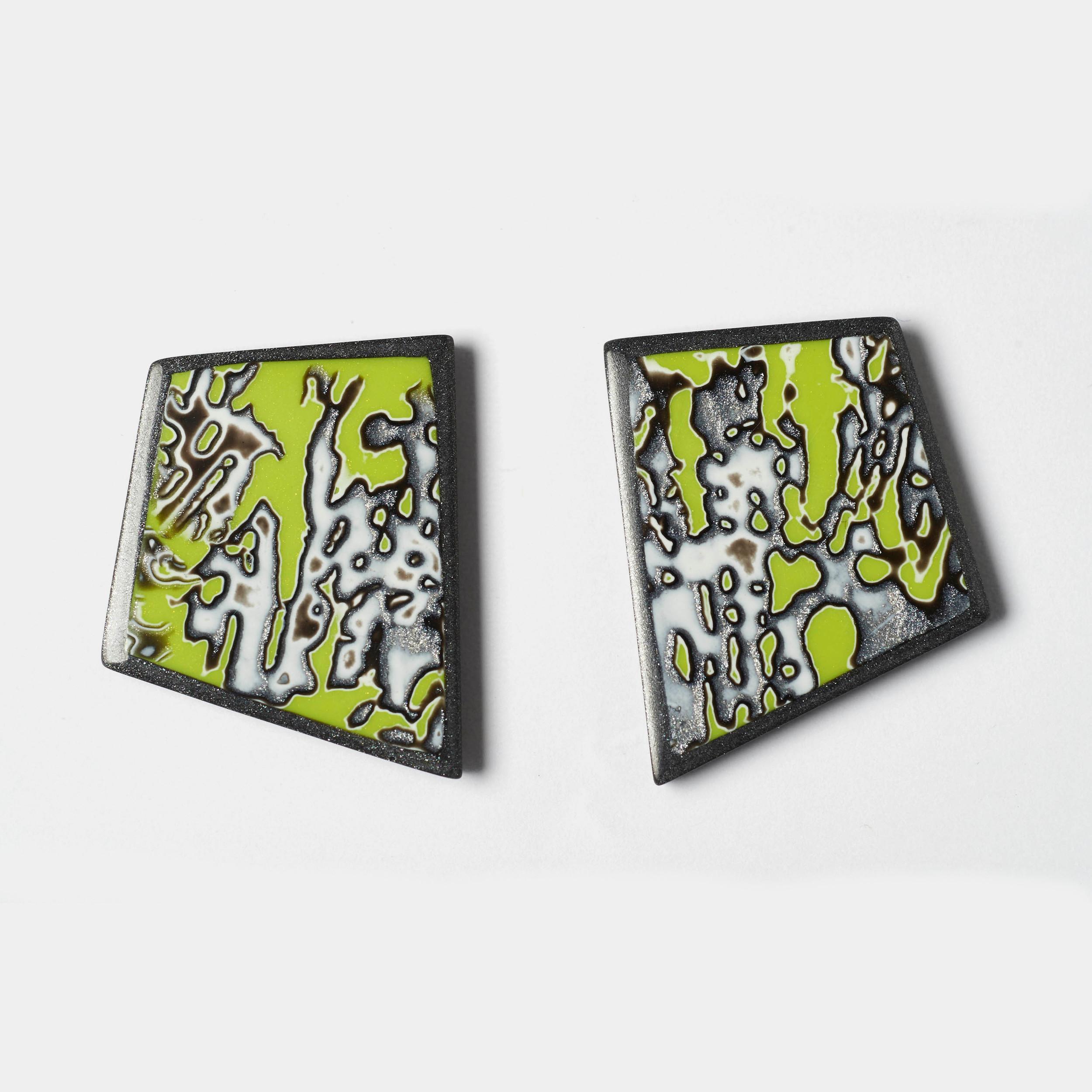 Melanie Muir Chartreuse Geo Earrings.jpg