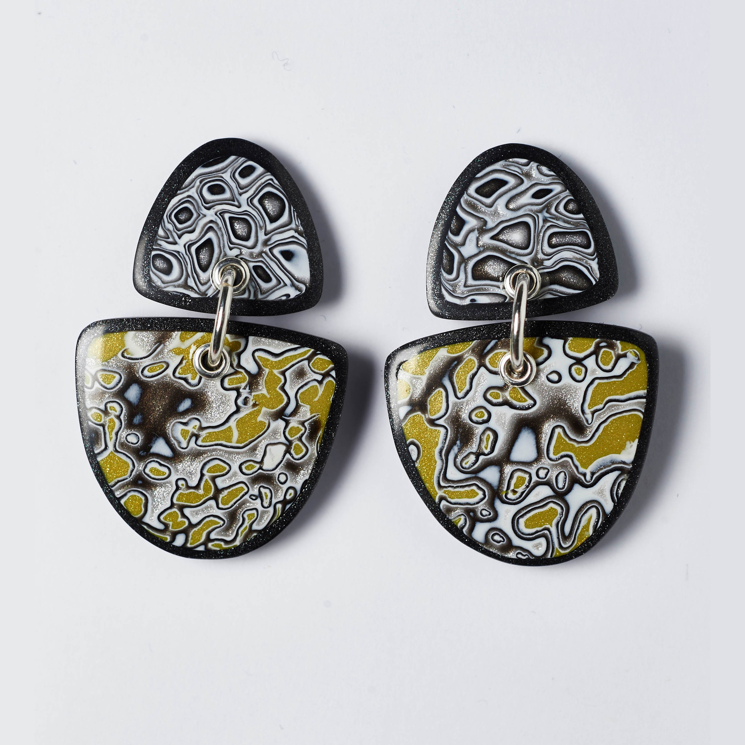 Melanie Muir Grey Lichen Earrings.jpg