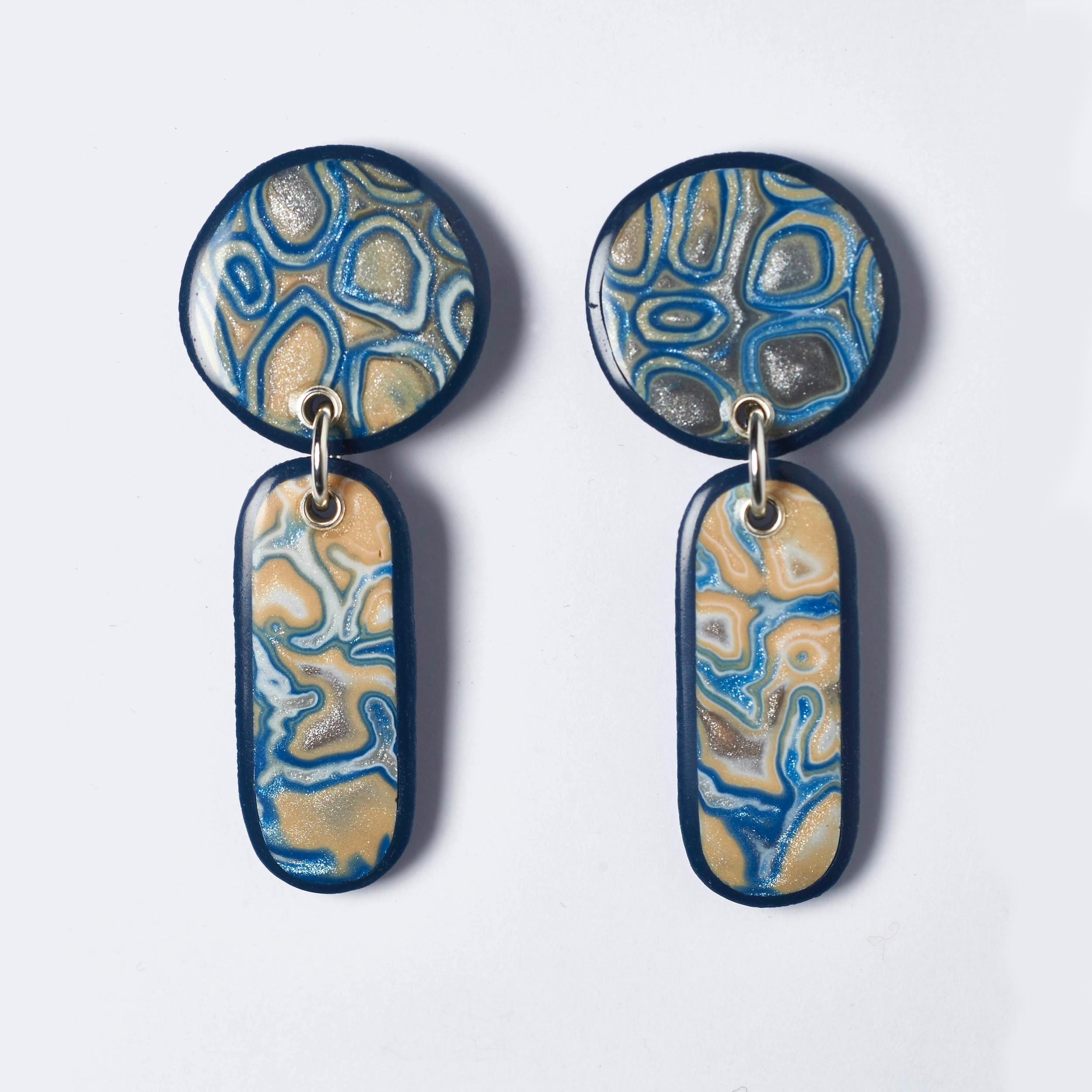 Melanie Muir Sky Blue Circle Earrings.jpg