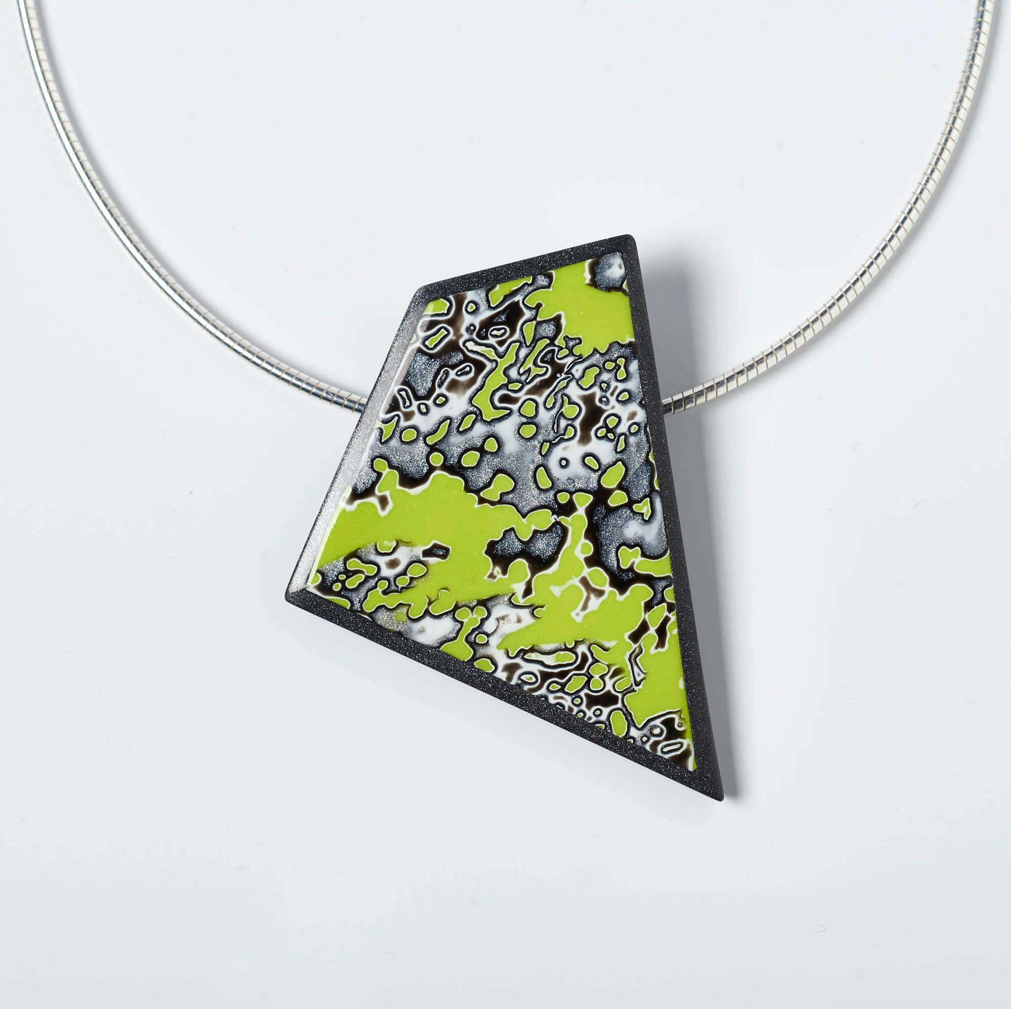 Melanie Muir Chartreuse Geo Pendant.jpg