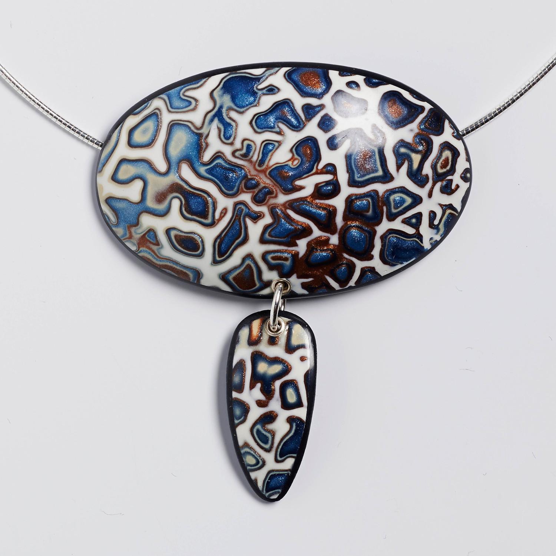 Melanie Muir Cracked Blue Pendant.jpg