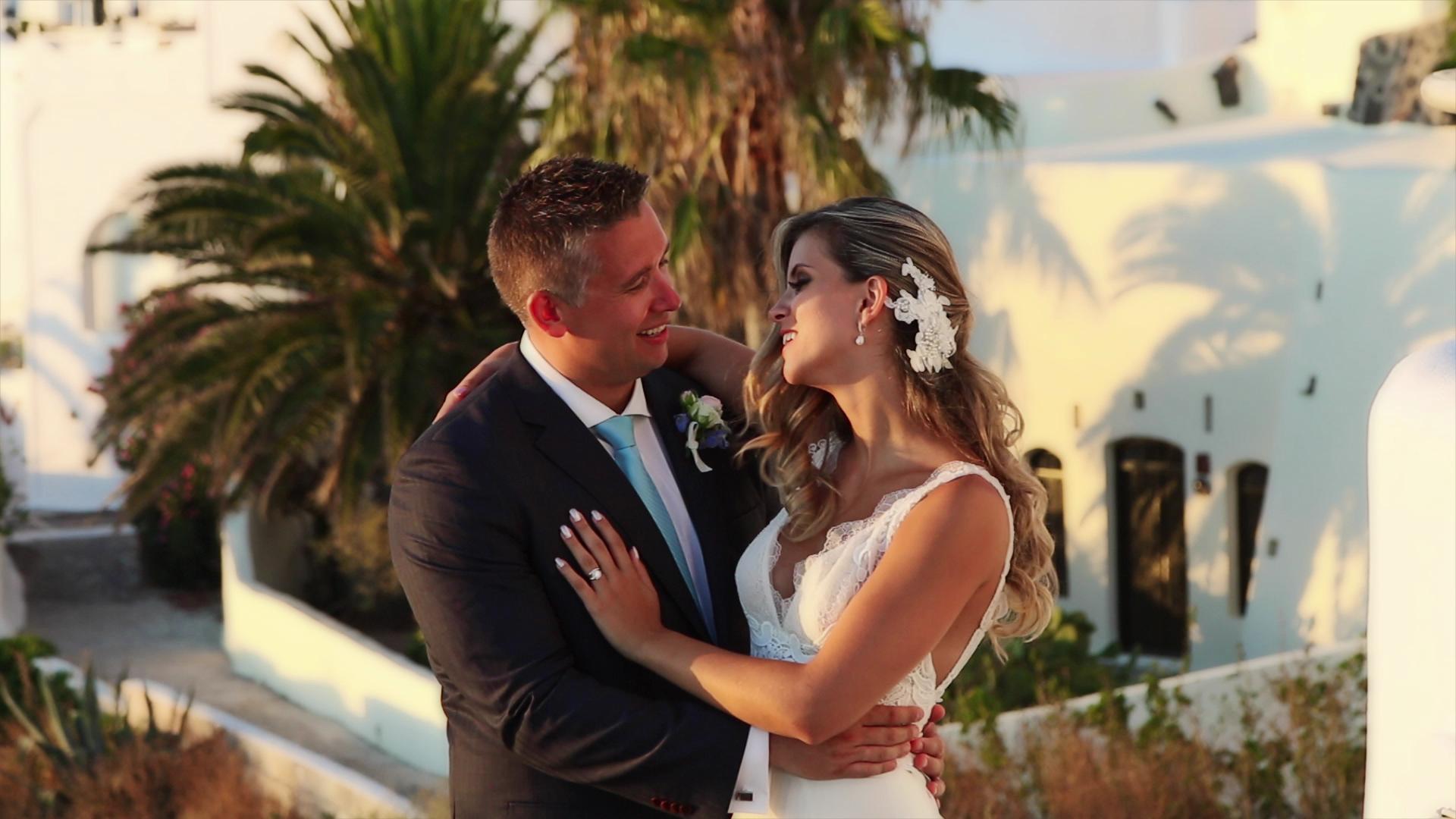 Wedding Videography in Santorini