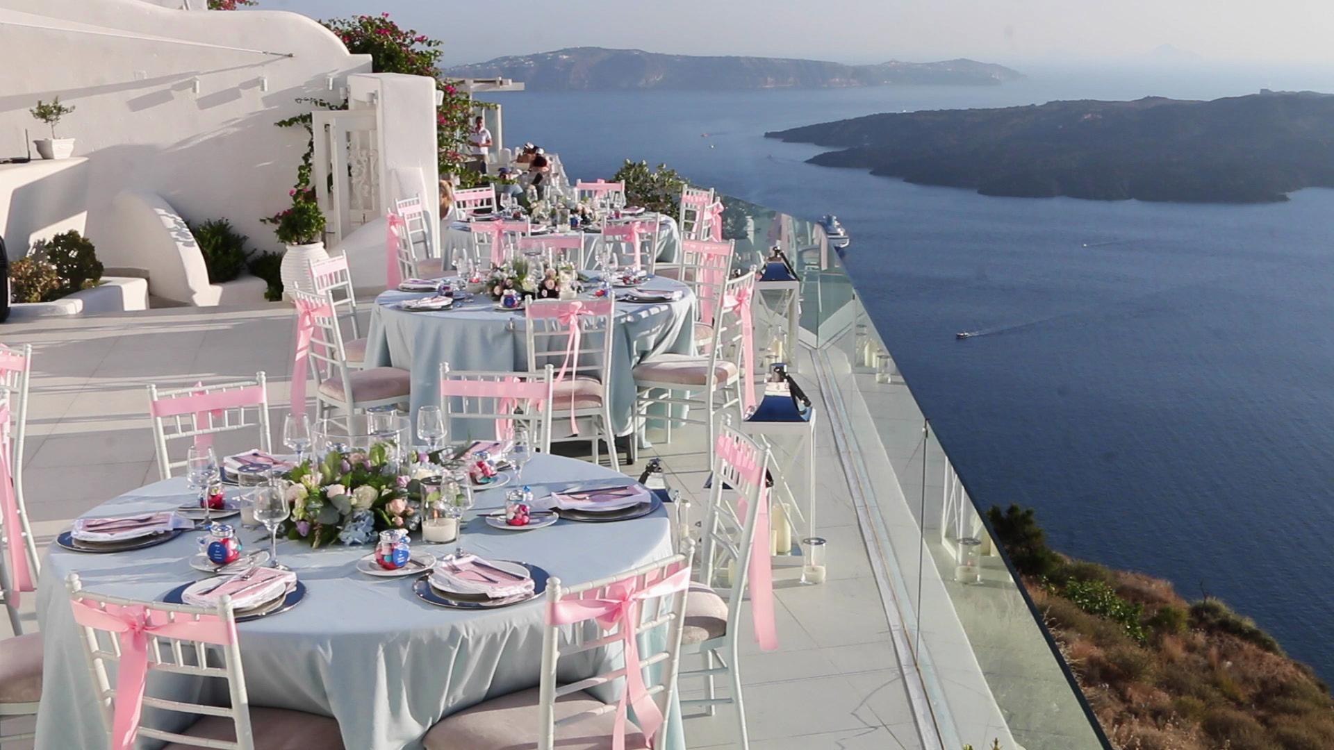 Wedding Videography Santorini - Dana Villas Wedding Venue