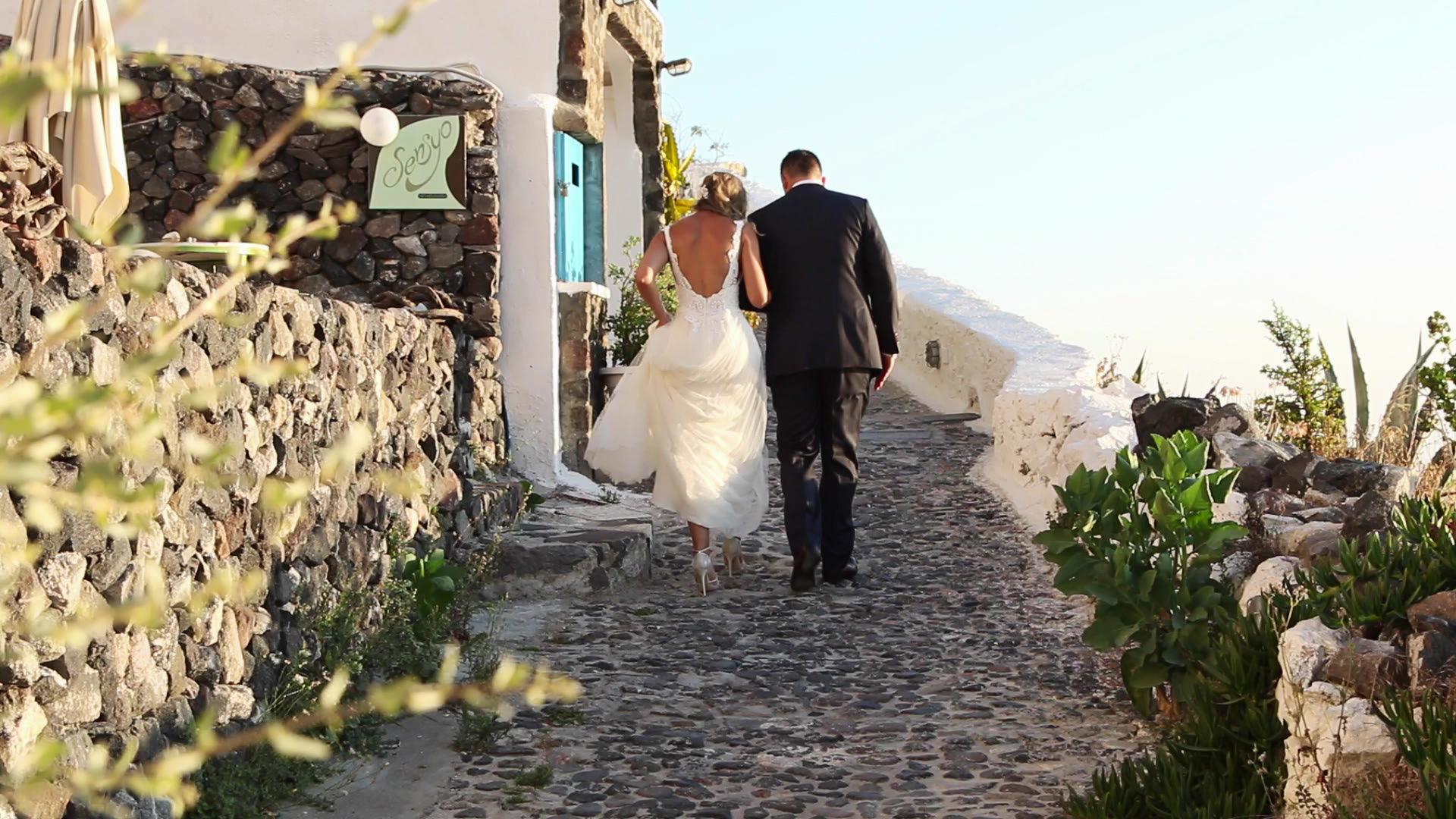 Wedding Videography Santorini - Santorini Wedding Photo Shoot