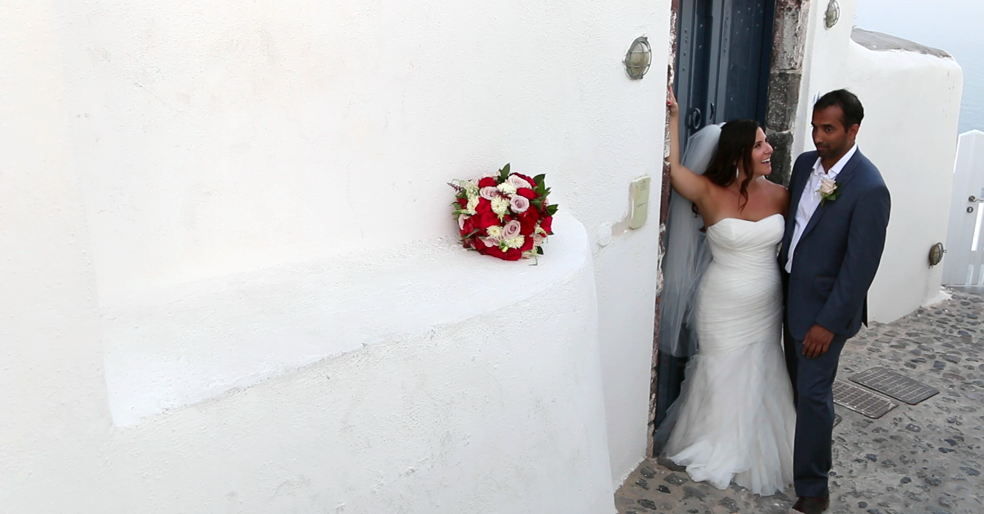 Wedding Videography - Santorini Photo Shoot