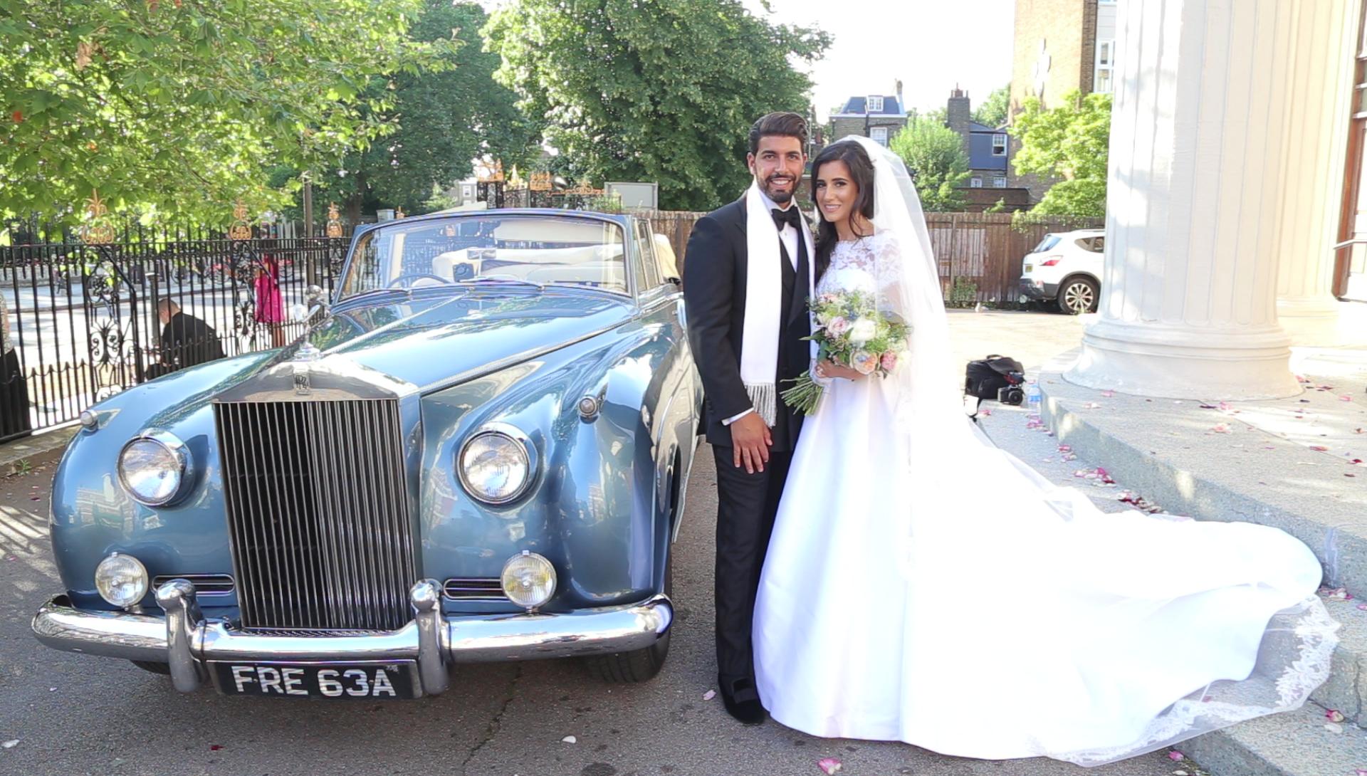 Camden Roundhouse Wedding