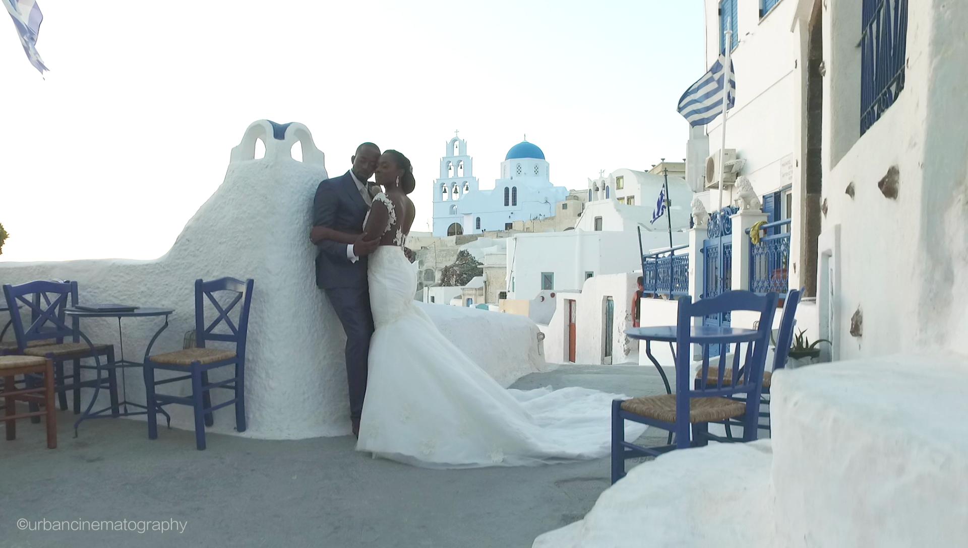 Santorini Nigerian Wedding Videographer